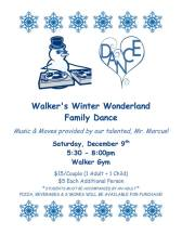 Walker winter dance flyer