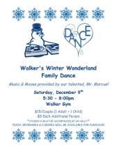 Walker winter dance flyer