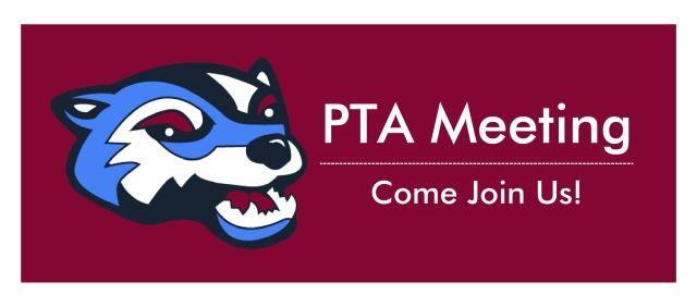 PTA Meeting Banner