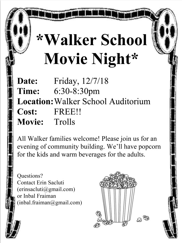 Microsoft Word - Walker Movie Night12/7.docx
