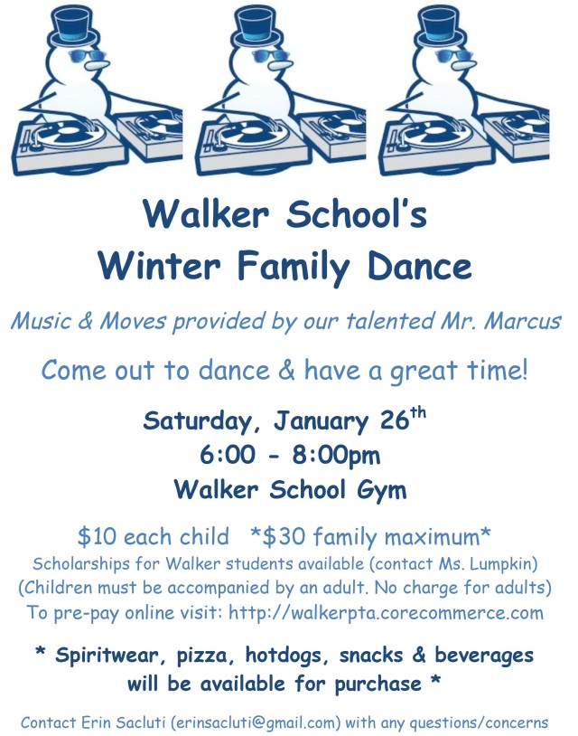 Microsoft Word - Walker PTA Winter Dance.doc