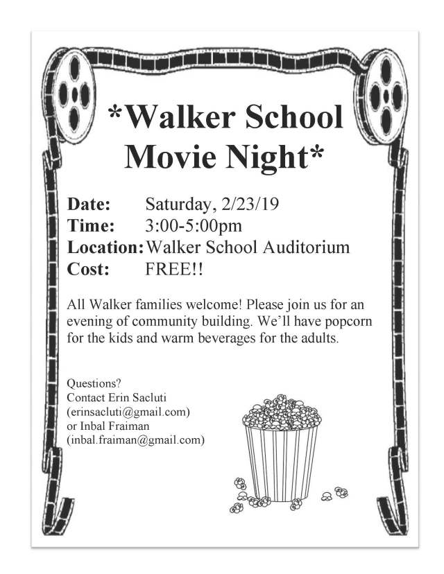 Walker Movie Night Feb 23
