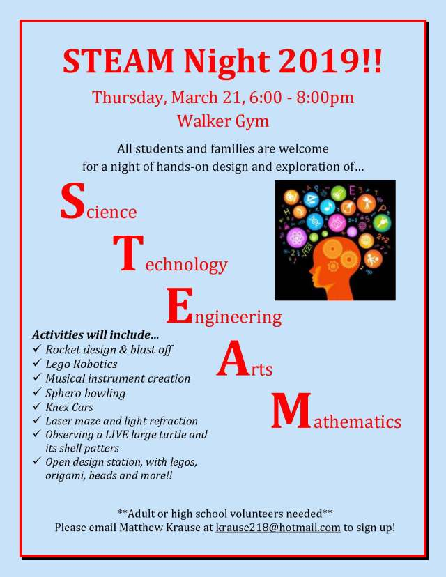 STEAM Night 2019