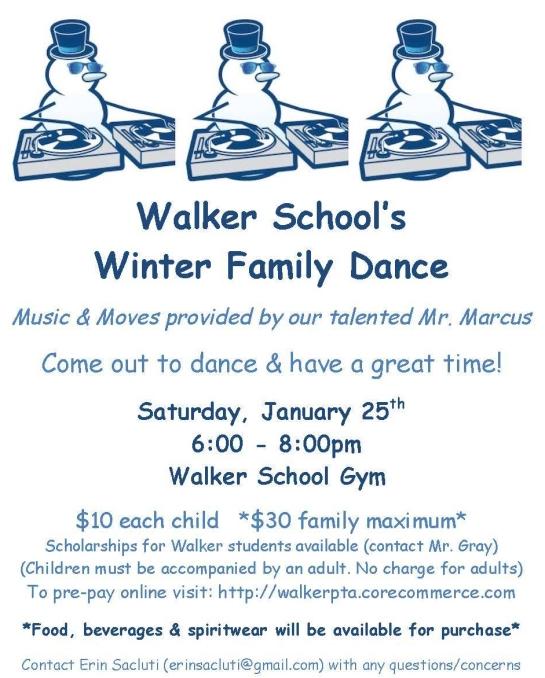 Walker PTA Winter Dance