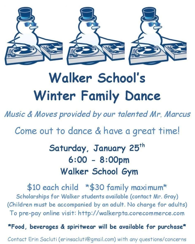 Walker PTA Winter Dance